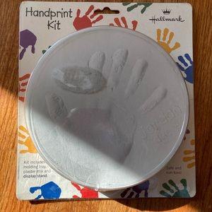 NIP - hallmark handprint kit